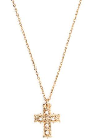 EMANUELE BICOCCHI Muži Náhrdelníky - Diamond cross pendant necklace