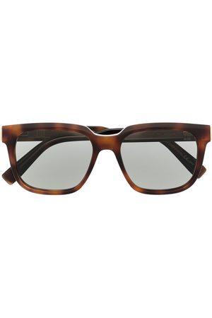 Dunhill Sluneční brýle - Square tortoiseshell sunglasses