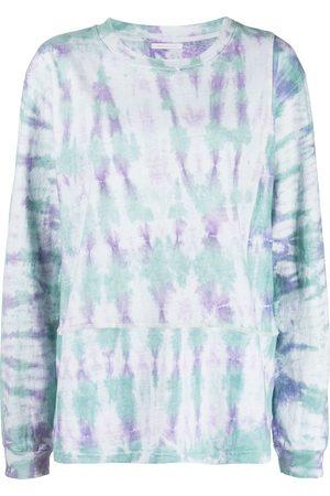 JOHN ELLIOTT Ženy S dlouhým rukávem - Tie-dye print long-sleeved T-Shirt