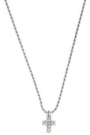 EMANUELE BICOCCHI Náhrdelníky - Diamond cross pendant necklace
