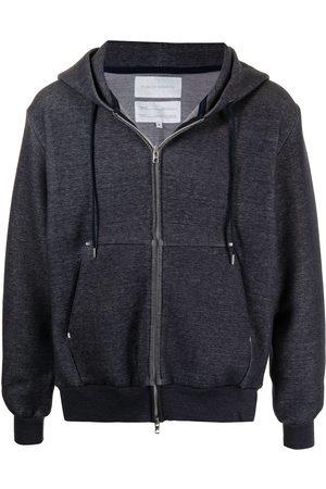 Fumito Ganryu Jersey zip bomber jacket