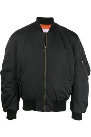 MARTINE ROSE Logo zipped bomber jacket