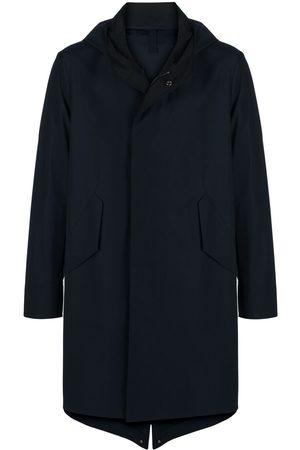 Harris Wharf London Muži Trenčkoty - Hooded mid-length trench coat
