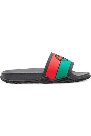 Gucci Interlocking G slide sandals
