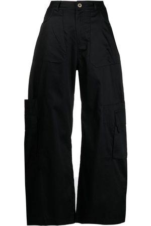 MARQUES'ALMEIDA Satin wide-leg trousers