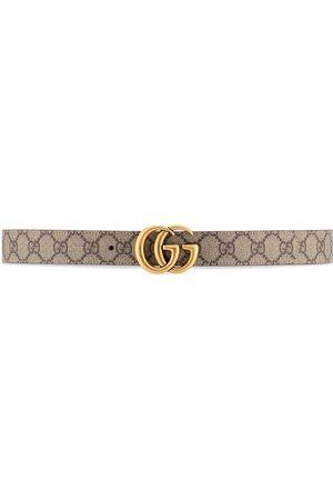 Gucci Ženy Pásky - GG Marmont reversible belt
