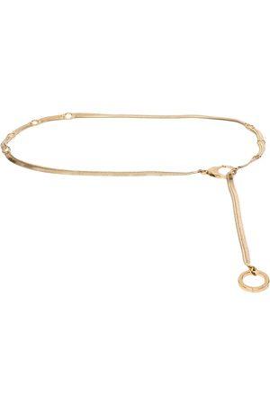 AZ FACTORY Flat chain belt