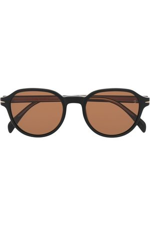 DB EYEWEAR BY DAVID BECKHAM Round-frame tinted sunglasses