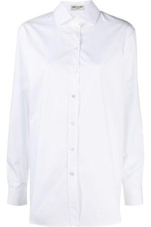 Saint Laurent Oversized poplin shirt