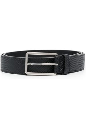 Bottega Veneta Embossed-pattern leather belt