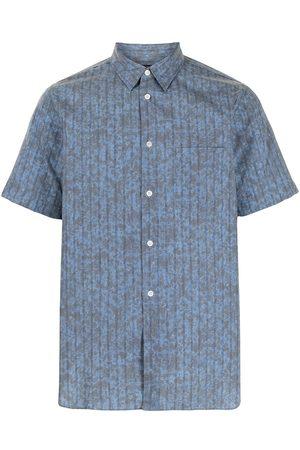 Comme des Garçons Abstract print short-sleeved shirt