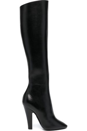 Saint Laurent Slip-on pointed toe boots