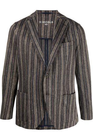 Circolo Muži Saka - Striped single-breasted jacket