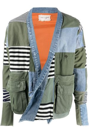 GREG LAUREN Muži Bundy - Patchwork jacket