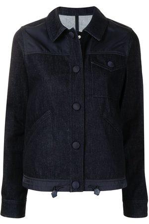 Moncler Ženy Džínové bundy - Multi-panel denim jacket
