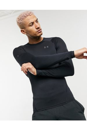 Under Armour Training Rush 2.0 Heat Gear base layer compression long sleeve t-shirt in black