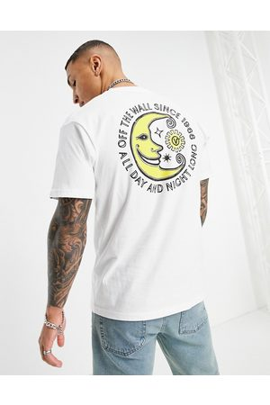 Vans Day and Night short sleeve t-shirt in white