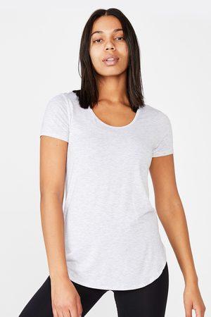 Cotton On Sportovní triko Gym šedé