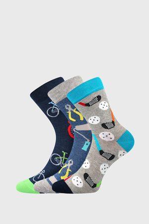 Boma 3 PACK chlapeckých ponožek Freetime