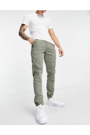 ASOS Slim trousers in green