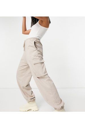 COLLUSION Ženy Tepláky - Utility joggers in dusty brown