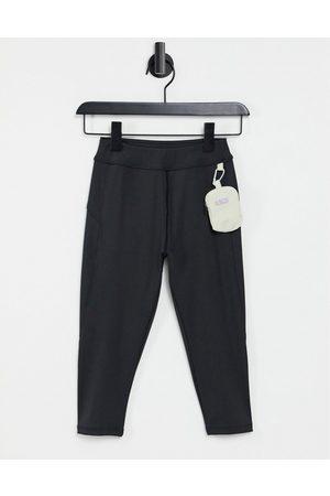 ASOS Ženy Sportovní batohy - Hourglass capri legging with detachable bag-Black