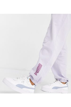 PUMA Ženy Tepláky - Washed jogger in powder lilac - exclusive to ASOS-Purple