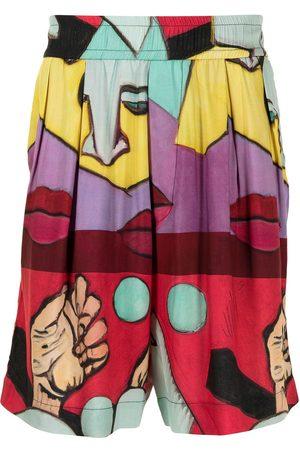 Vivienne Westwood Samurai knee-length shorts