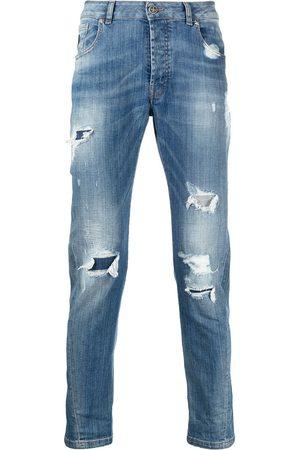 John Richmond Mick distressed slim-fit jeans