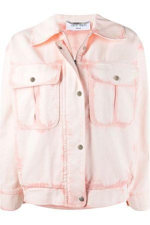 Alberta Ferretti Bleached denim jacket