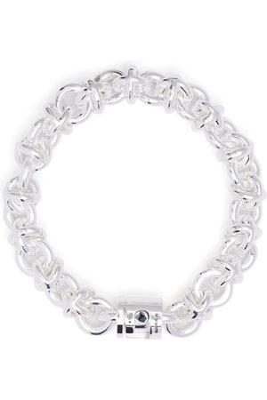 Le Gramme 87g polished entrelacs bracelet