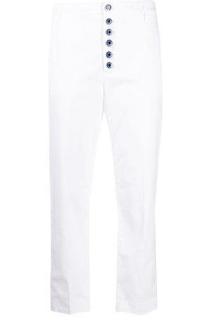 Dondup Button-down straight-leg trousers