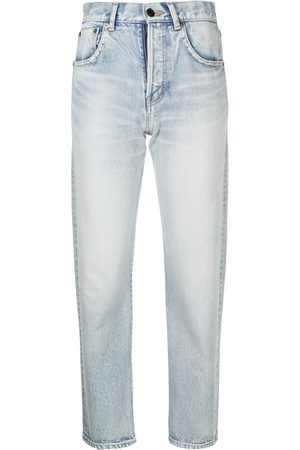Saint Laurent Authentic high-waisted jeans
