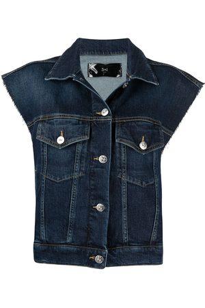 3x1 Sleeveless denim jacket