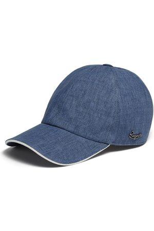 Ermenegildo Zegna Logo-plaque baseball cap