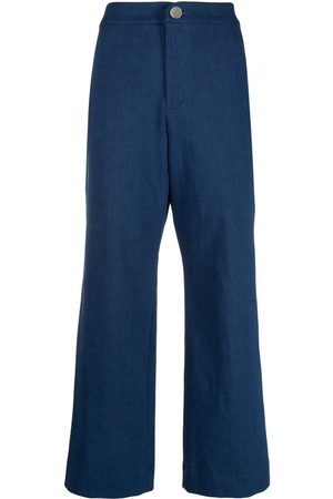 ROSEANNA Cropped flare trousers