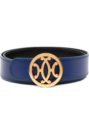 Hermès Pre-owned logo buckle belt