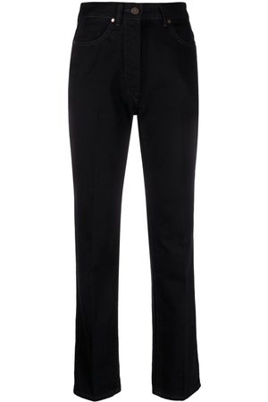 LEMAIRE High-rise straight-leg jeans