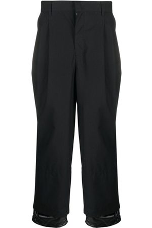 JUUN.J Layered-ankle trousers