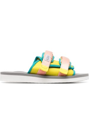 SUICOKE Double-strap slip-on sliders