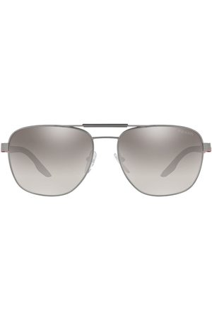 Prada Aviator-frame tinted sunglasses