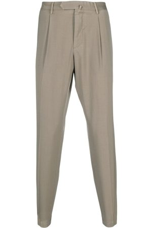 DELL'OGLIO Concealed-front trousers