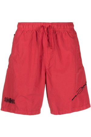 Stone Island Embroidered track shorts