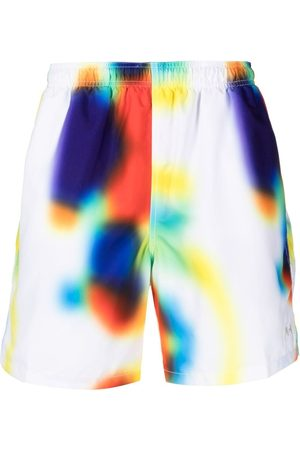 STUSSY Soul Water print shorts