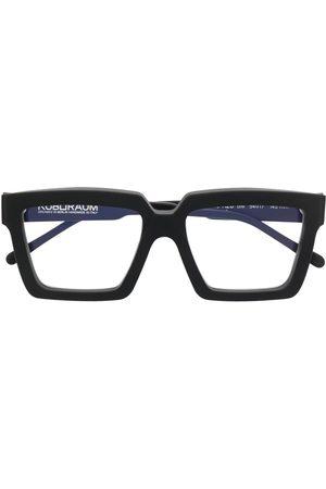 KUBORAUM Matte-effect square-frame glasses