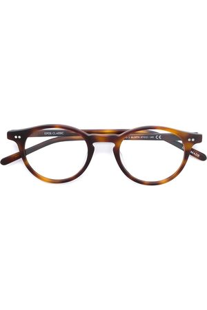 EPOS Tortoiseshell-effect round glasses