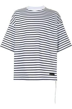 MASTERMIND JAPAN Oversized striped T-shirt
