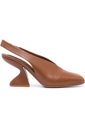 Salvatore Ferragamo Sloane chunky-heel 85mm pumps