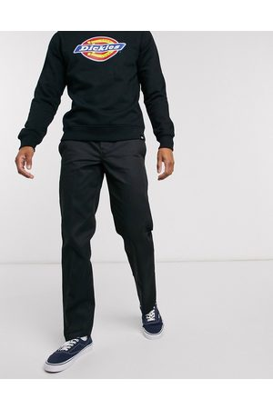 Dickies Muži Chino - 873 slim straight fit work trousers in black