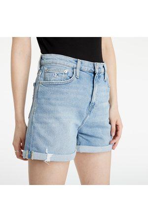 Calvin Klein Denim Mom Shorts Denim Light